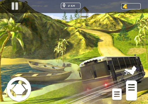 Real Offroad Bus Simulator 2020 Tourist Hill Bus 3.5 screenshots 5