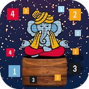 Color by Number Ganesha God: Coloring Pages icon