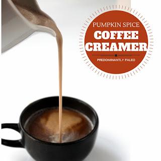 Paleo Pumpkin Spice Coffee Creamer.
