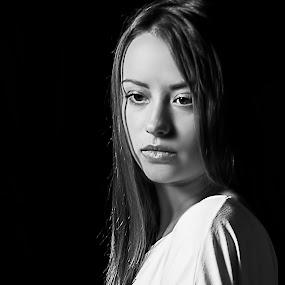 by Nedelcu Valeriu - Black & White Portraits & People