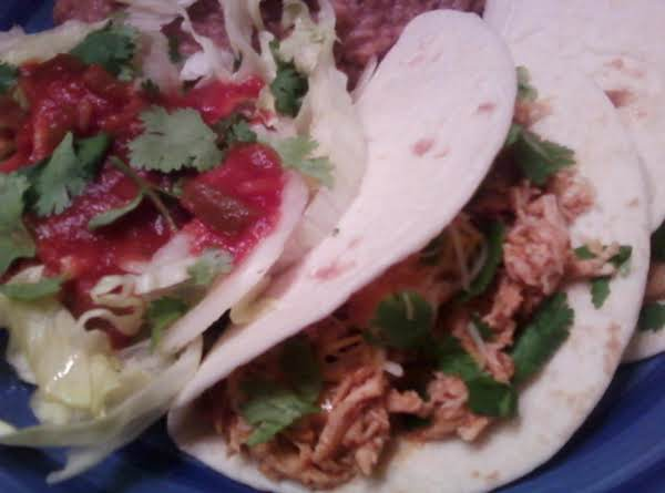 Deelicious Restaurant Quality Chicken Tacos!