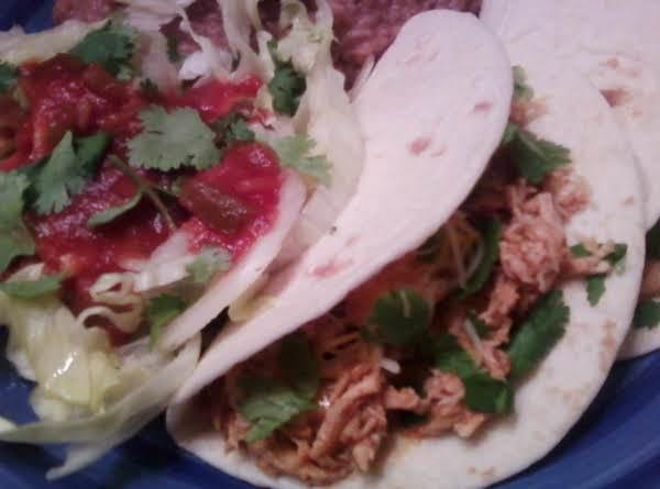 Deelicious Restaurant Quality Chicken Tacos!