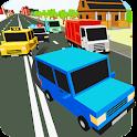 Highway Blocky Rush icon