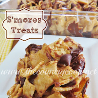 Gooey S'mores Treats.