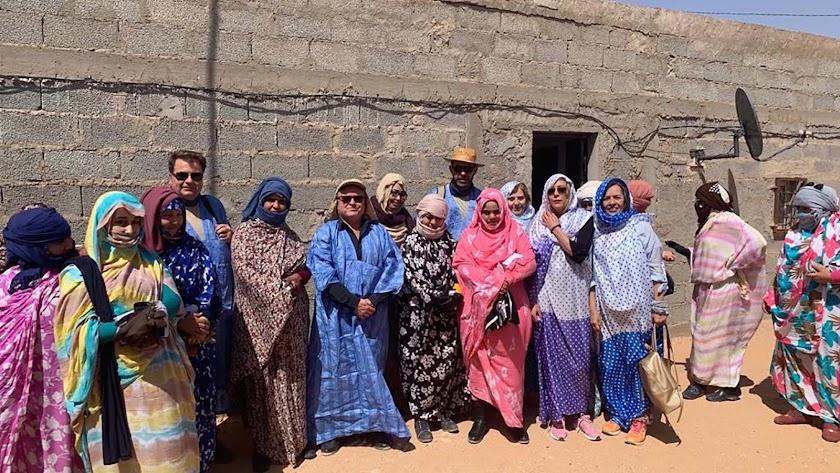 Proyecto desarrollado en el Sahara.