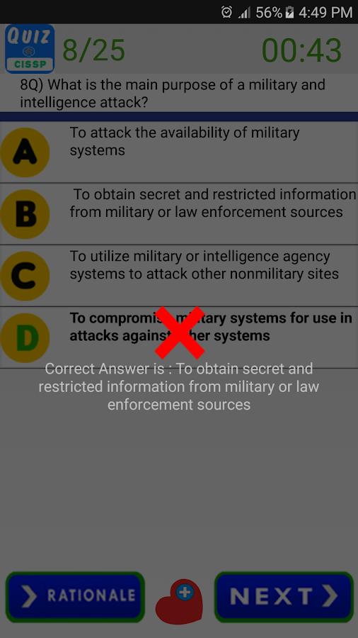 Information Security Magazine Cpe Quiz