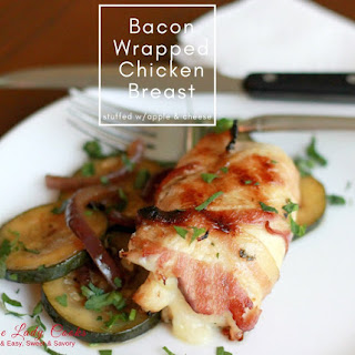 Bacon Wrapped Stuffed Chicken Breast Air Fryer.