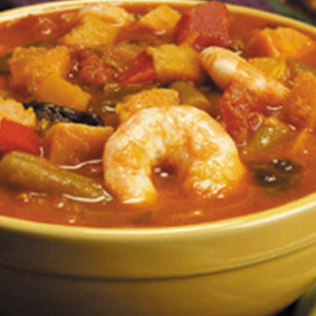 Shrimp and Yam Soup