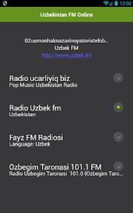 Uzbekistán FM Online - náhled