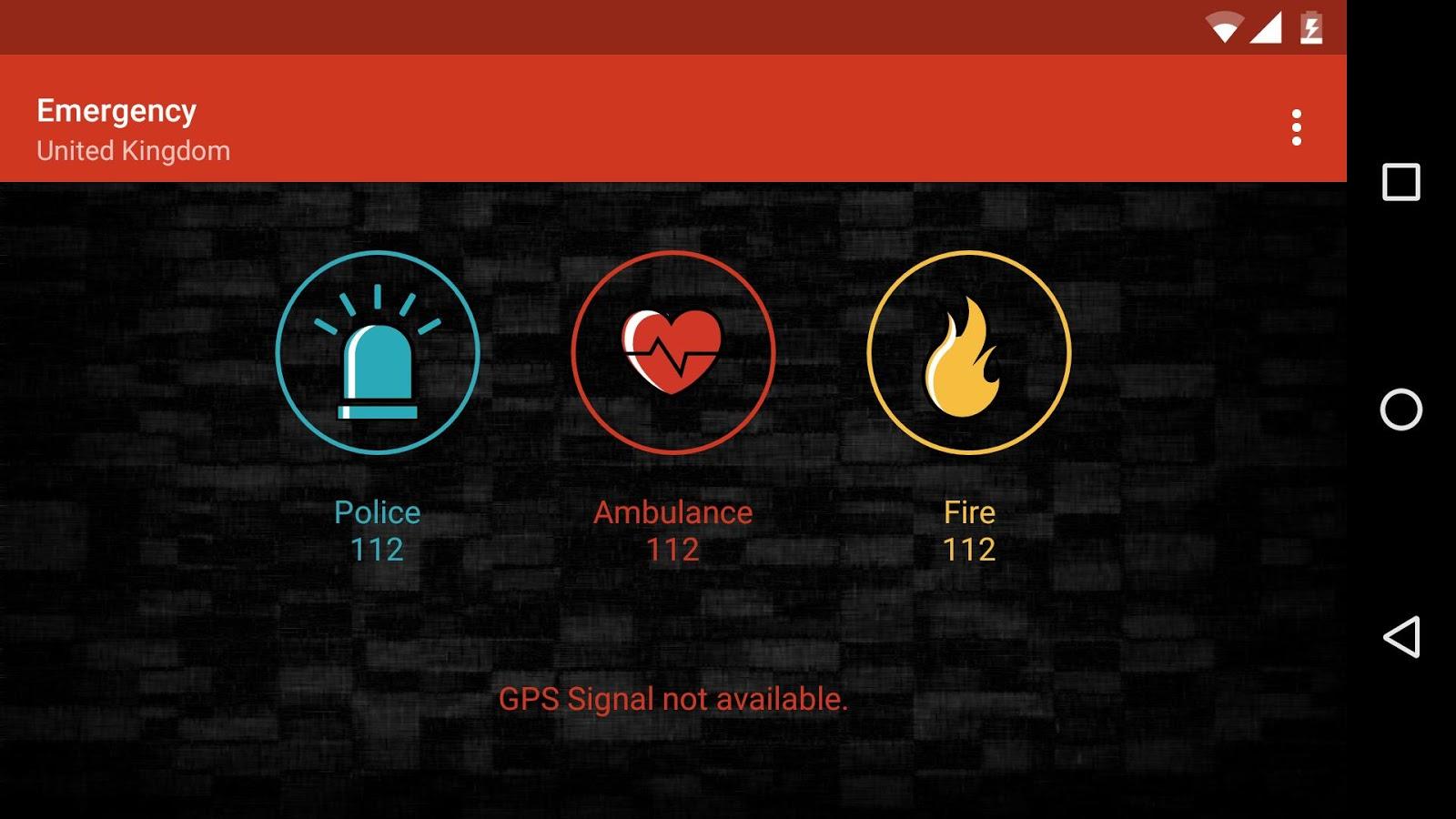 Emergency - στιγμιότυπο οθόνης