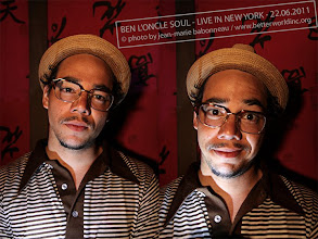 Photo: BEN L'ONCLE SOUL New-York City, 2011. © photo by jean-marie babonneau all rights reserved www.betterworldinc.org