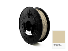 FiberForce Pantone (R) 13-1009 TPG PLA Filament - 2.85mm (0.75kg)