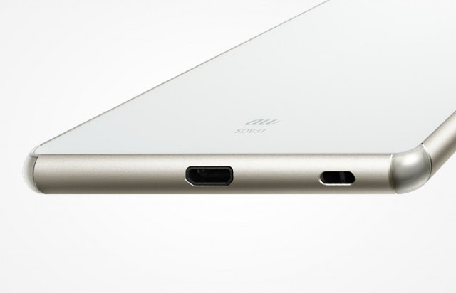 Thiết kế sang trọng và phong cách của Sony Z4 AU