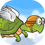 Flying Hungry Turtle Adventure Icon