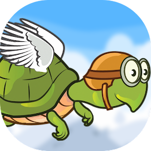 Flying Hungry Turtle Adventure