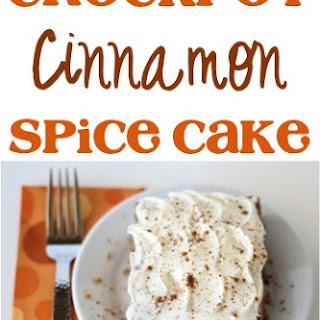 Crockpot Cinnamon Spice Cake!