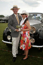 Photo: More celebrations for the Murray's as the have now been awarded 'Most Elegant in Show'. Double well done