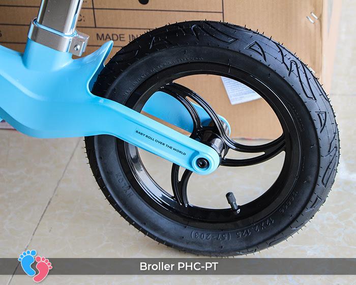 Xe cân bằng Broller PHC-PT bánh hơi 11