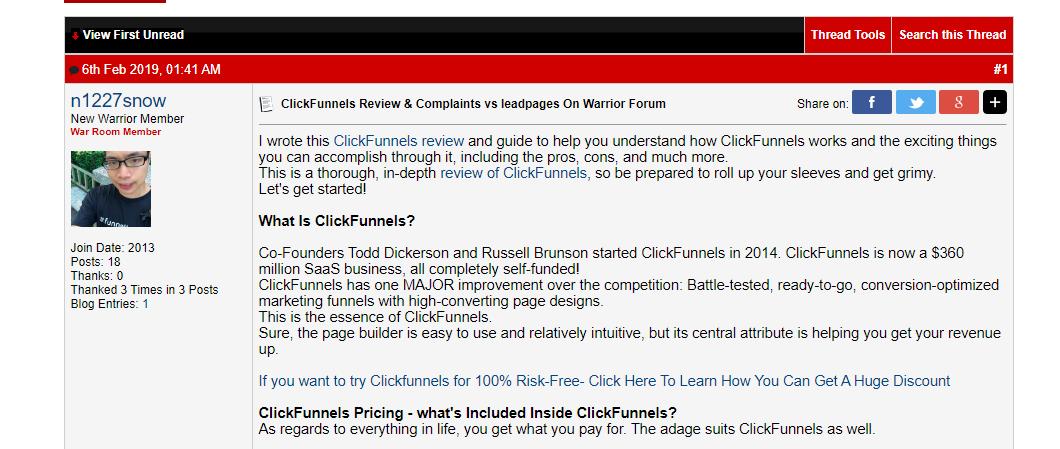 warriorforum screenshot