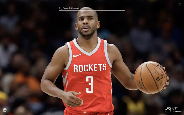 Chris Paul HD Wallpapers New Tab Theme