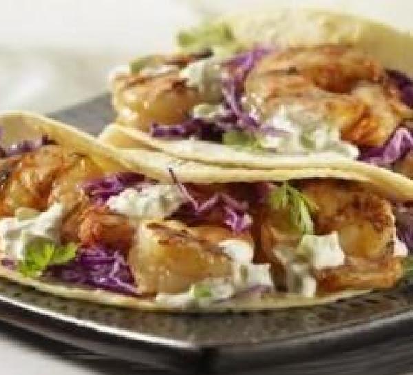 Ceviche-marinated / Grilled Louisiana Shrimp Taco Recipe