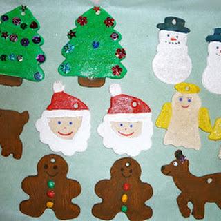 Easy Salt Dough Christmas Ornaments for Kids
