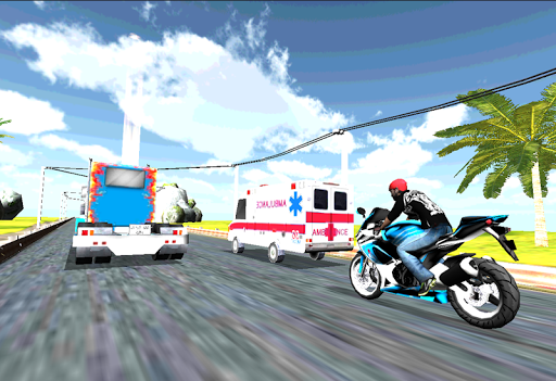 Motorcycle Traffic Racer 3D
