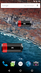 Battery Widget Pro- screenshot thumbnail