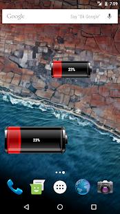 Battery Widget Pro - náhled