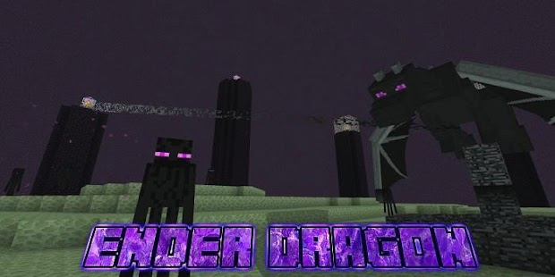 The End Dragon add-on for MCPE - náhled