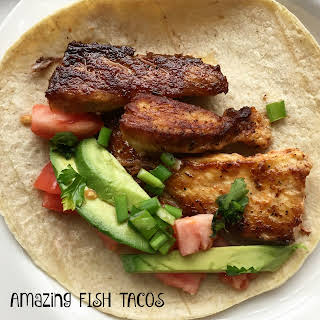 Amazing Fish Tacos in Tequila and Lime.