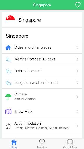 旅行者のためにシンガポールの天気予報ガイド