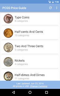 PCGS Price Guide - Coin Values- screenshot thumbnail