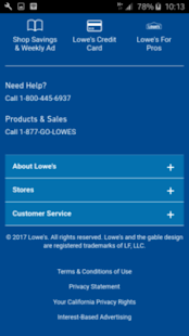 guide for Lowe's - Home Improvement Warehouse - náhled