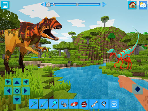RaptorCraft 3D: Survival Craft u25ba Dangerous Worlds 3.9.2 APK MOD screenshots 1