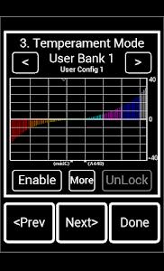 Precision Strobe Tuner Demo screenshot 2