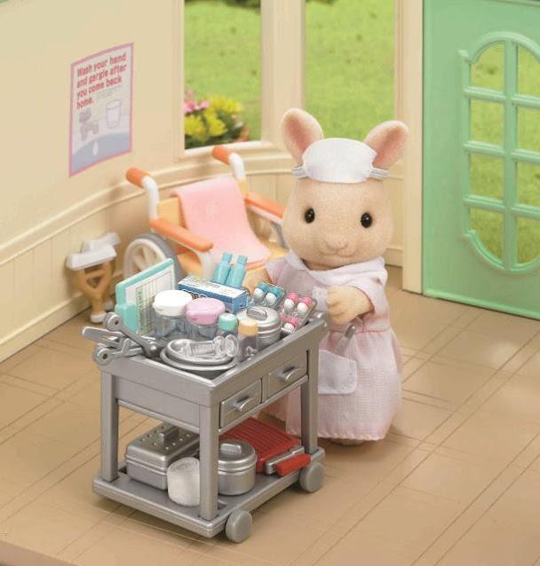 Mẹ thỏ trong Bộ y tá đáng yêu