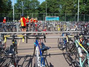 Photo: de fiets opzoeken en .... weer huiswaarts. Tot ziens
