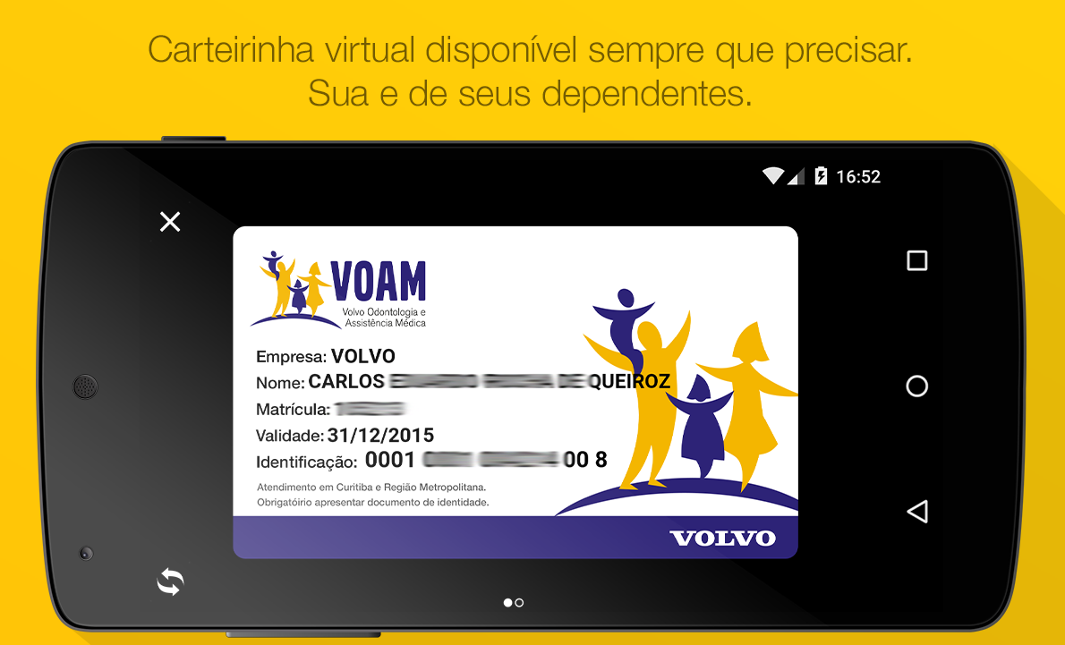 Voam- screenshot