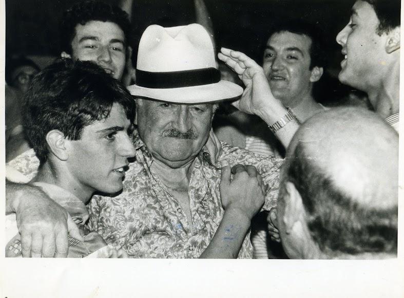 El día que Pedro Pastor se puso a su Atléti de sombrero con el ascenso a Segunda B.
