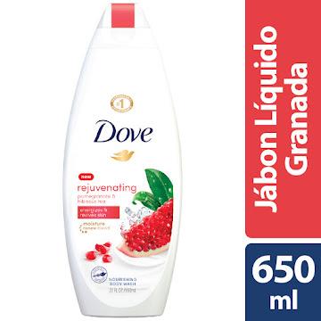 Jabon Corporal Dove Body   Wash Go Fresh Granada x 650Ml