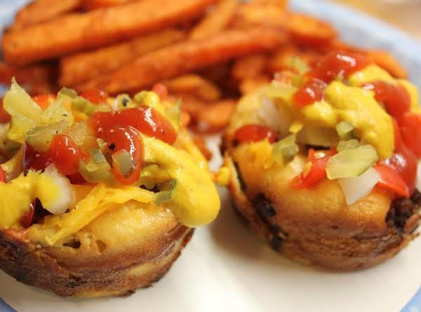 Mini Cheese Burger Pies Recipe
