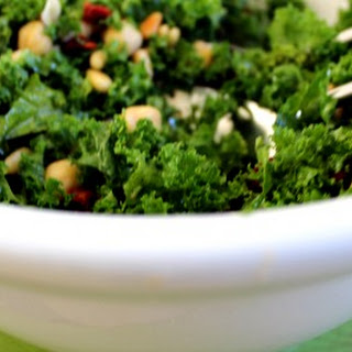 Kale Salad with Chickpeas and Sun-Dried Tomatoes