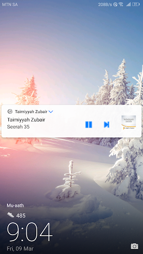 Taimiyyah Zubair - Lectures screenshot 14