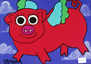 Photo: When Red Pigs Fly . 8x12