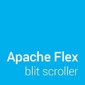 Flex blit scroller