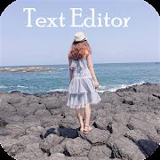 Text on photo - Text editor