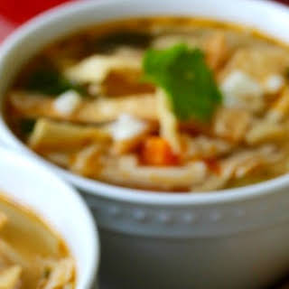 El Pollo Loco Chicken Tortilla Soup Copycat.