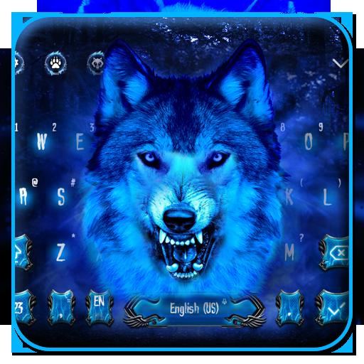 Ice Wolf Keyboard