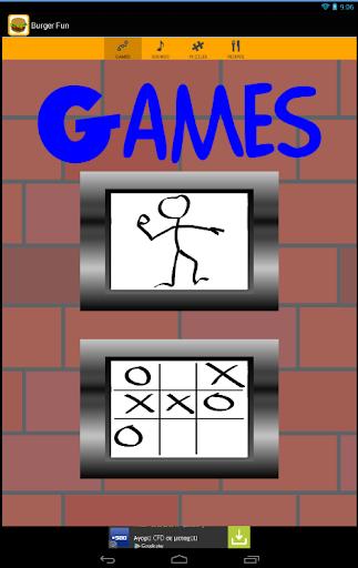 Free Burger Games